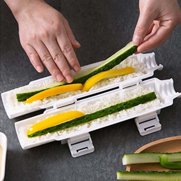 Rouleaux riz légumes
