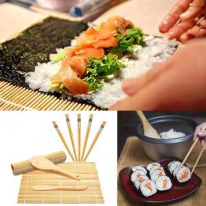 Ensemble 10 pièces dégustation sushis