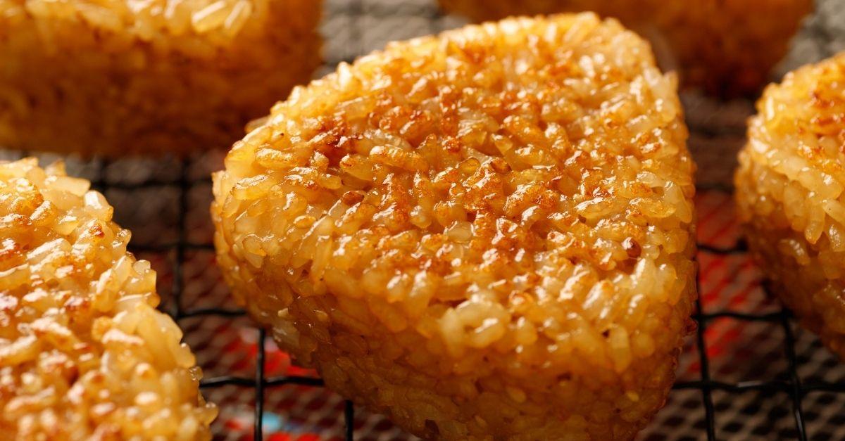 Onigiris grillés