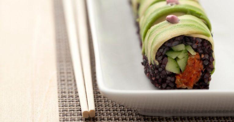 Sushi végan au quinoa